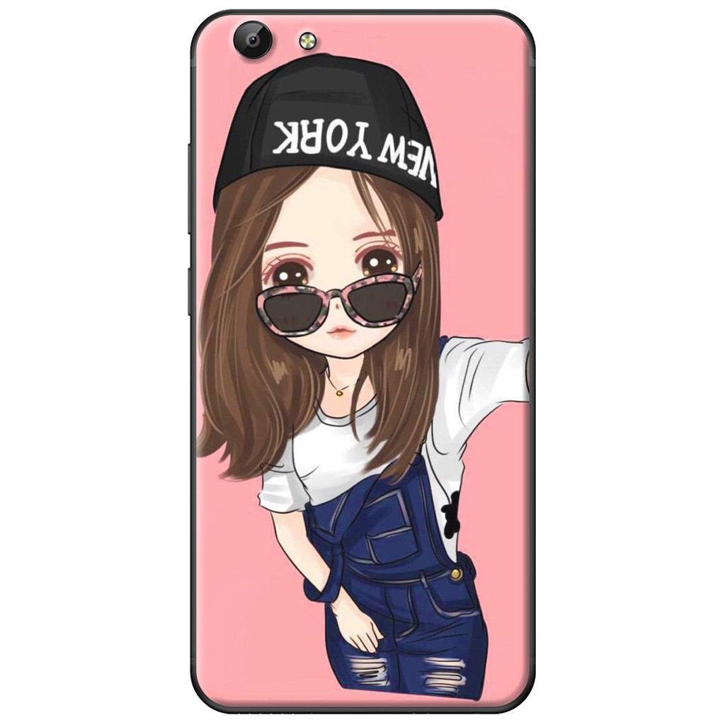 Ốp lưng Vivo Y69/Y55/Y53/V5/V5 Plus - nhựa dẻo Em Selfie