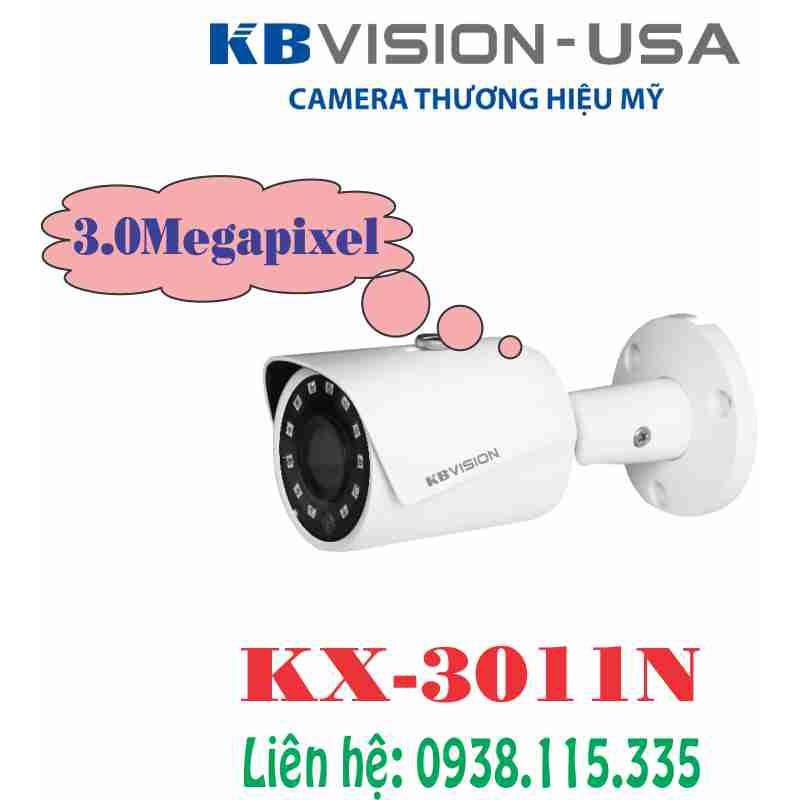 Camera IP hồng ngoại 3.0 Megapixel KBVISION KX-3011N
