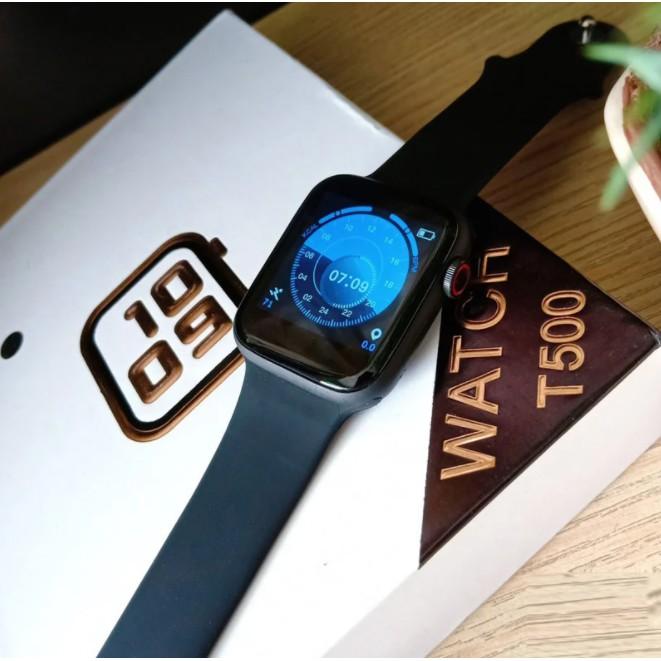 Đồng Hồ Thông Minh T500 Seri 6 Bluetooth 5.0 Thay Ảnh Đa Dạng Nghe Gọi 12 Tháng Bảo Hành