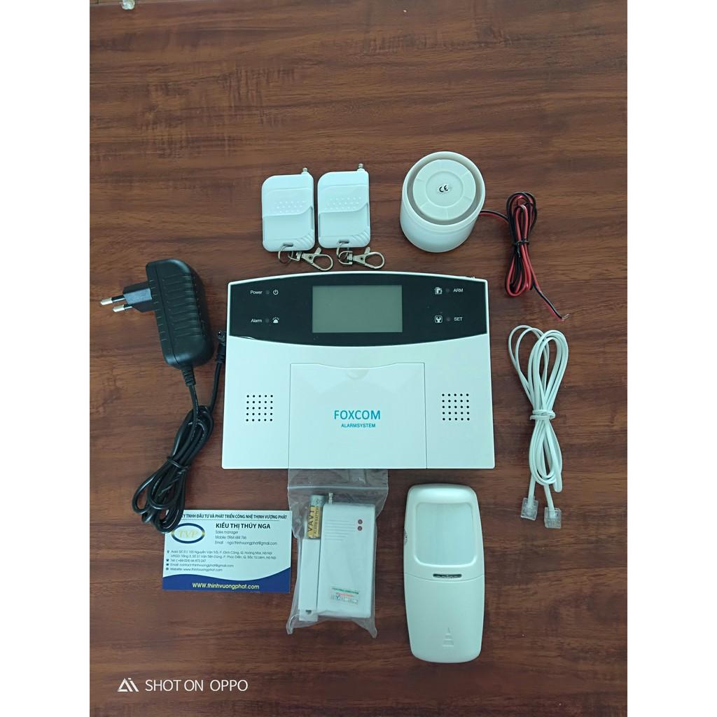 Bộ báo động chống trộm không dây GMS gọi điện chủ  nhà  khi có người đột nhập
