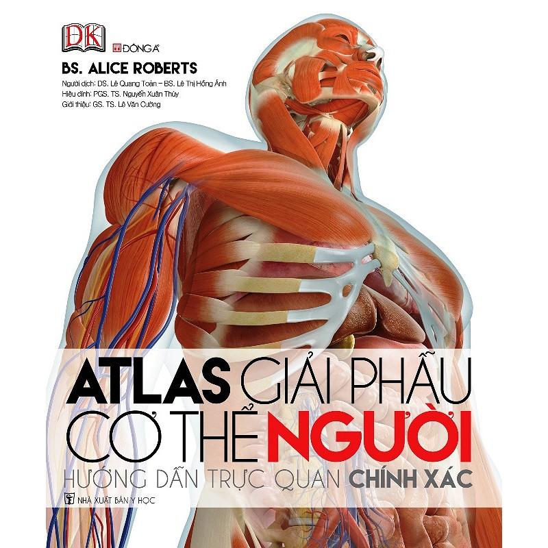 [ Sách ] Atlas Giải Phẫu Cơ Thể Người