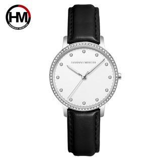 Đồng hồ nữ Hannah Martin chính hãng - DÂY DA cao cấp - model HM-107PH - bảo hành 1 n thumbnail