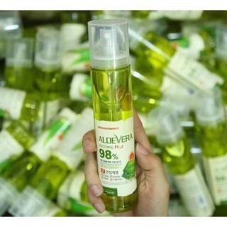 xịt-khoáng-lô-hội-Aloe-vera-soothing-mist-98%-(hàn-quốc) thumbnail