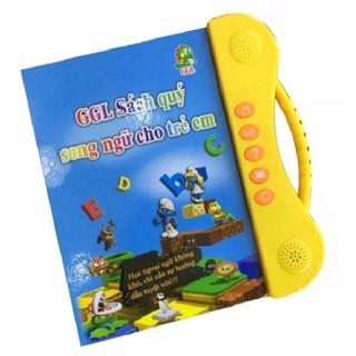 [Nhập TOYMAR giảm 10%]Sách Nói Điện Tử Song Ngữ Anh- Việt Giúp Trẻ Học Tốt Tiếng Anh