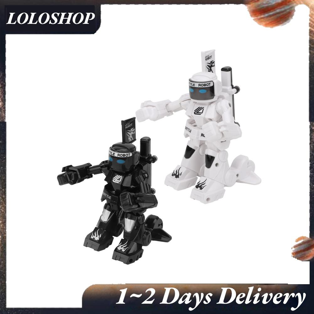 Loloshop 2.4G RC Robot Intelligent Remote Control Robotica Toy Humanoid For Kid Children❤