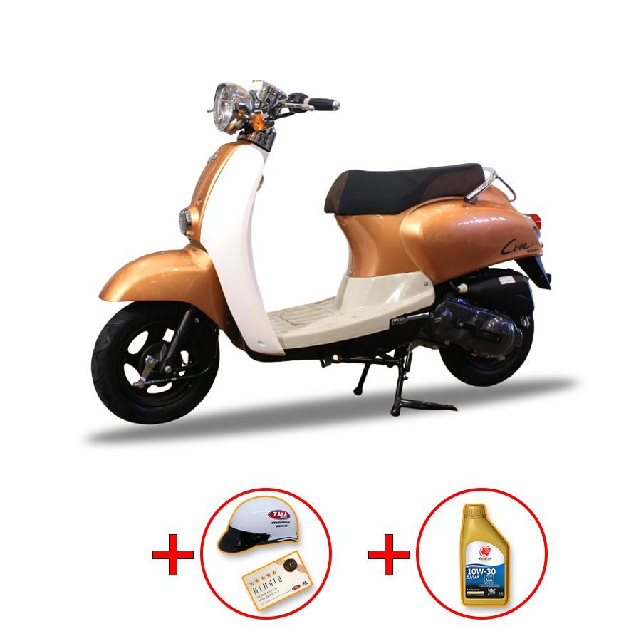 Xe ga Taya Crea 50cc (màu đồng)