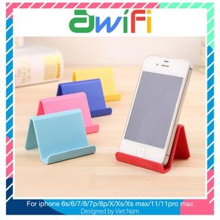 Giá Đỡ chống lưng cho điện thoại di động phụ kiện airpod hình chữ V – Awifi Case H2-7
