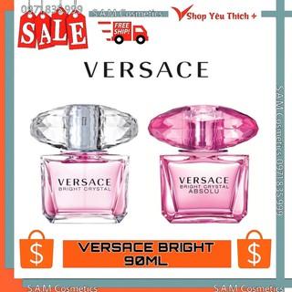 Nước Hoa VERSACE Bright Crystal nữ 30ml-90ml Nước Hoa Nữ Hàng Chính Hãng thumbnail