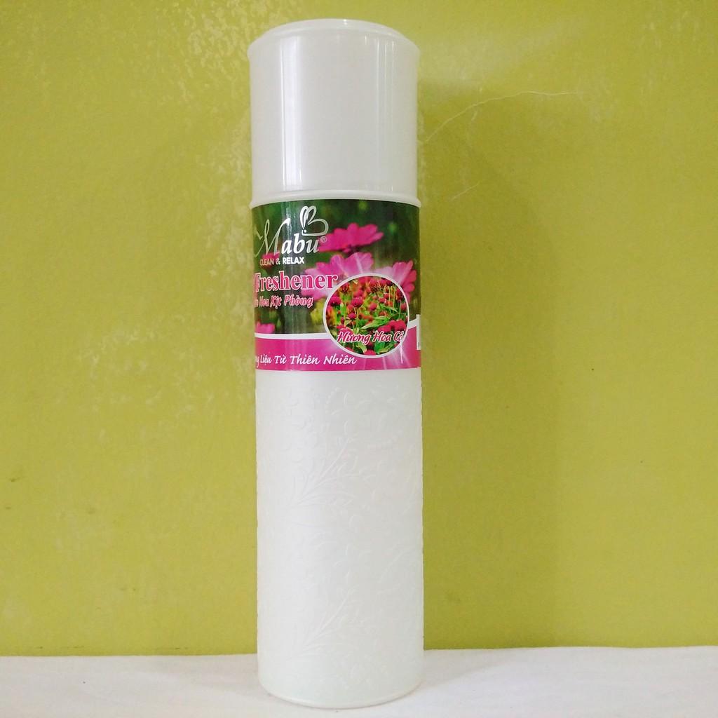 Nước hoa xịt phòng khử mùi Mabu hương hoa cỏ 380ml