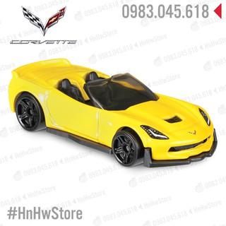 Xe Hot Wheels – Corvette C7 Z06 Convertible 2018 đồ chơi ô tô mô hình hotwheels
