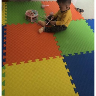 Combo 8 miếng xốp ghép lót sàn VN kích thước 60×60, thảm xốp lót sàn giá rẻ