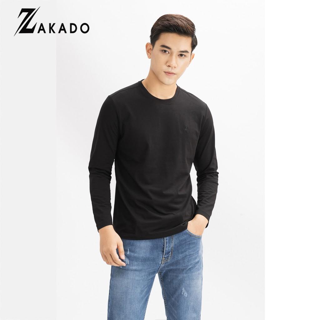 Áo thun nam dài tay ZAKADO 2019 (8 màu)