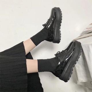 Giày nữ UlZZANG da bóng