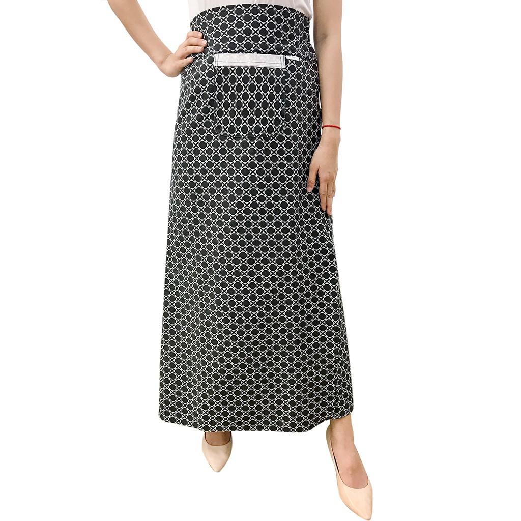 [được chọn mẫu] Váy chống nắng freeSize kaki xẻ tà cao cấp bao chất bao giá VKXT0023 | BigBuy360