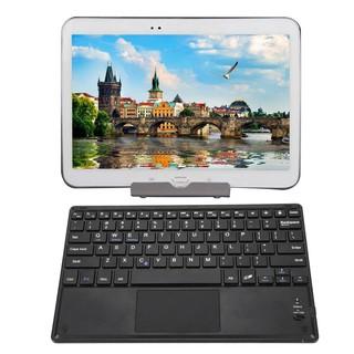 Bàn phím Bluetooth không dây siêu mỏng 10 CÓ Bàn di chuột cho máy tính bảng Android thumbnail