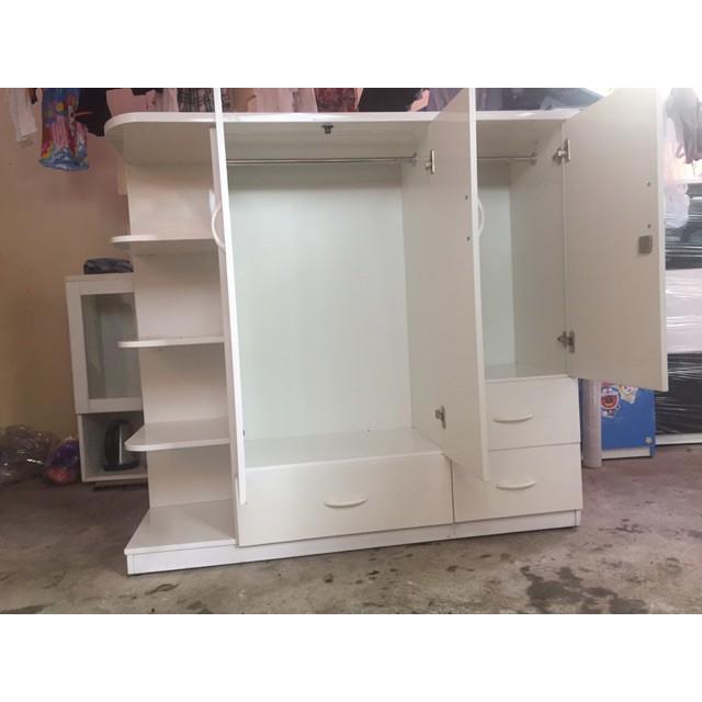 Tủ nhựa đài Loan có kệ trang trí Bn01
