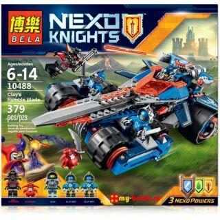 Lắp ráp Nexo Knights – Phi cơ kiếm của Clay