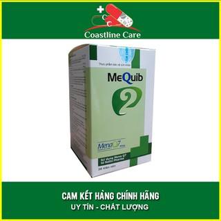 Viên Uống Mequib 2 - Tăng Cường Hấp Thu Canxi Giúp Tăng Chiều Cao Trong Tầm Tay thumbnail