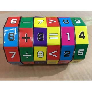 Rubic Toán Học Loại Lớn Cho Bé Tập Làm Quen Với Các Phép Tính