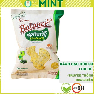 Bánh gạo hữu cơ 4Care Balance 25g cho bé ăn dặm - Tạp hoá mint thumbnail