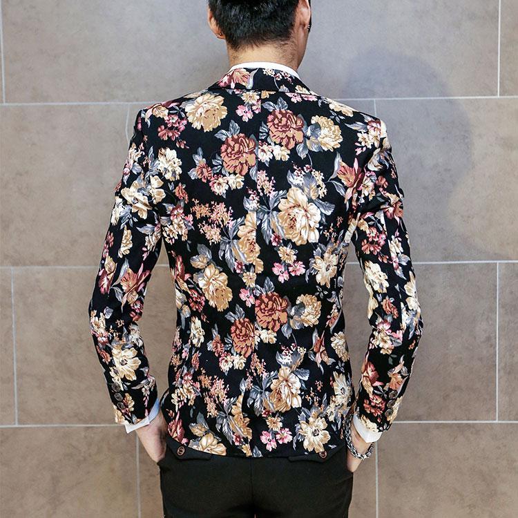 Korean Style Men's Suit Korean Style Smart Casual Men Blazer Men's Suit Fashion Korean men's clothing Slim Suit Coat