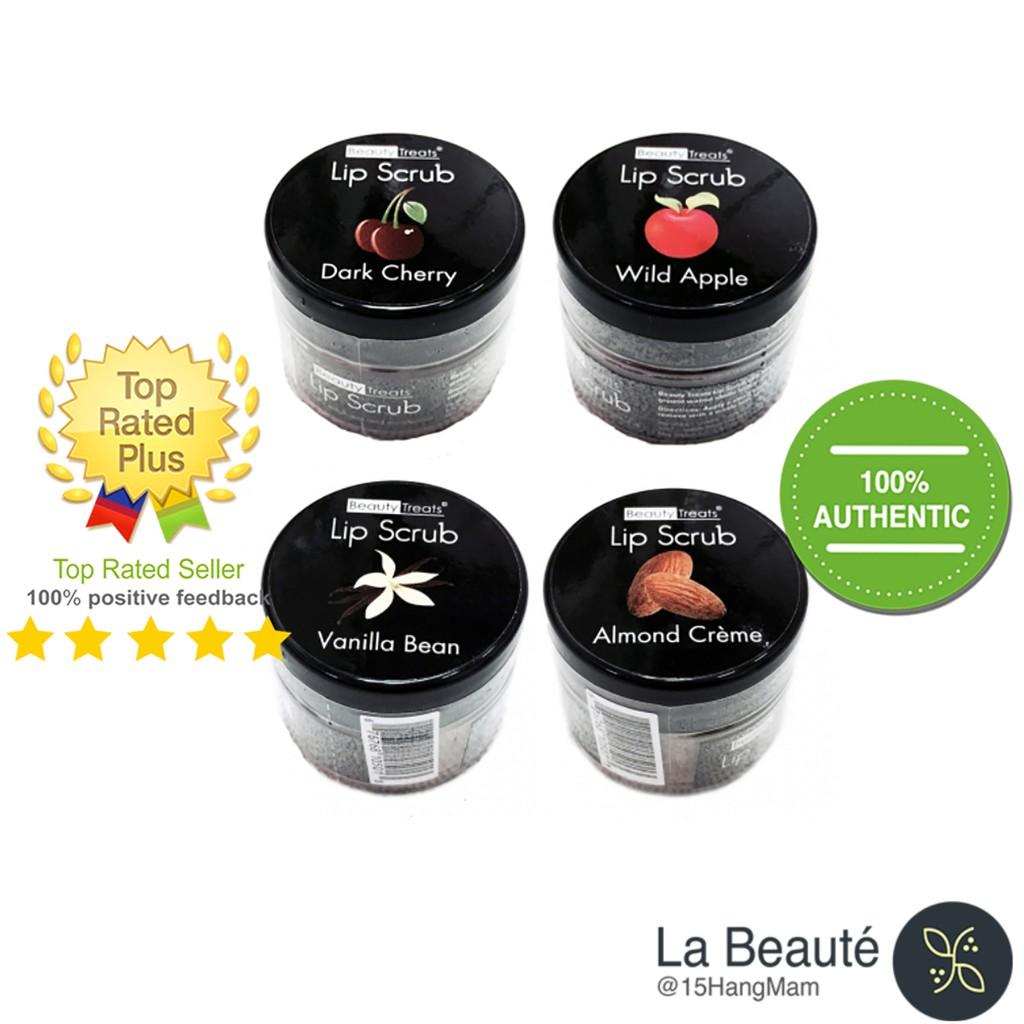 Beauty Treats Lip Scrub - Tẩy Da Chết Môi Nhiều Loại