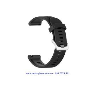 Dây cao su dẻo thay thế dành cho Garmin Forerunner 245 / 245M / Watch Active 1 và 2 / Gear S2 Classic / Watch 42mm