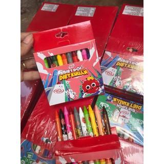 💥💥Bút sáp màu khuyến mại Lifebuoy tệp 10 hộp( tổng 100 cây)💥💥
