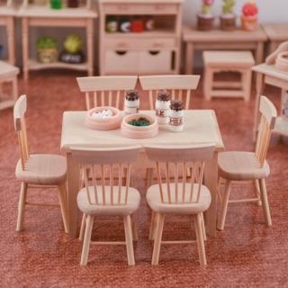 Bộ bàn ghế mô hình