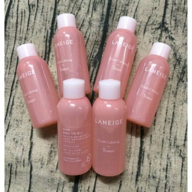 [Mini 50ml] Nước hoa hồng cân bằng, dịu mát da Laneige Fresh Calming Toner - 3047634 , 1067146574 , 322_1067146574 , 100000 , Mini-50ml-Nuoc-hoa-hong-can-bang-diu-mat-da-Laneige-Fresh-Calming-Toner-322_1067146574 , shopee.vn , [Mini 50ml] Nước hoa hồng cân bằng, dịu mát da Laneige Fresh Calming Toner