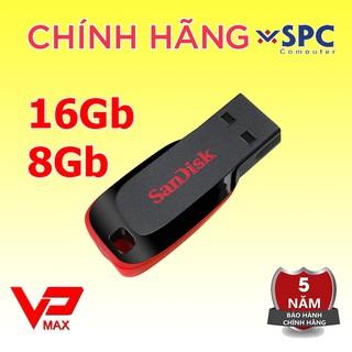 [Mã ELFLASH5 giảm 20K đơn 50K] Usb 16Gb 8Gb Sandisk CZ50 Kioxia Toshiba Trek bh 5 năm
