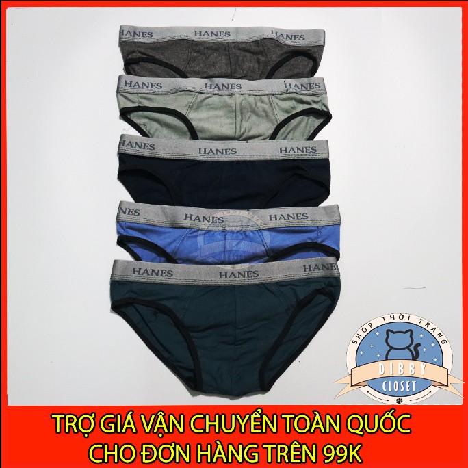 (Freeship)  Quần lót nam, quần sịp nam cotton - 1 loại lưng H.A.N.E.S (Ảnh thật)