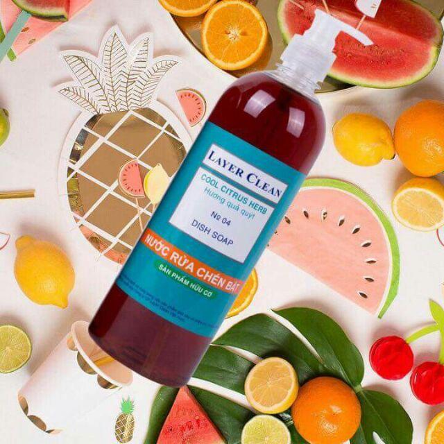 Nước rửa chén hữu cơ layer clean hương qua quýt 800ml - 13598004 , 797208879 , 322_797208879 , 27000 , Nuoc-rua-chen-huu-co-layer-clean-huong-qua-quyt-800ml-322_797208879 , shopee.vn , Nước rửa chén hữu cơ layer clean hương qua quýt 800ml