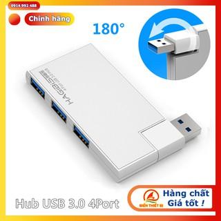 Hub chia USB 3.0-1 ra 4 vỏ nhôm – Bộ chia USB 3.0 cho Laptop Macbook Surface Pro