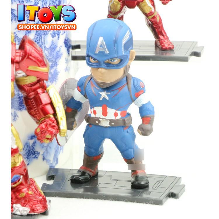6 mô hình nhân vật siêu anh hùng Avengers tuyệt đẹp | 10cm - ITOYS