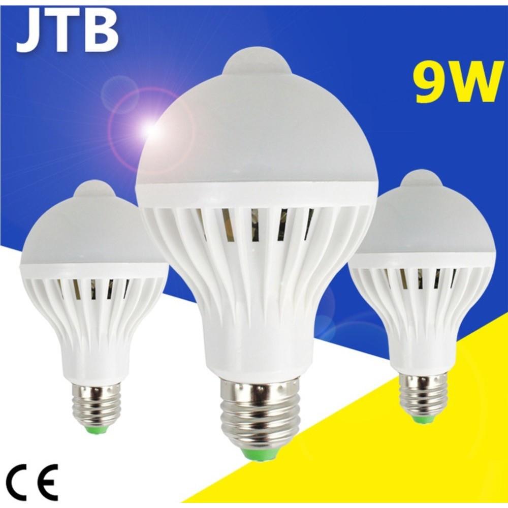 Bóng đèn led 9W cảm ứng hồng ngoại