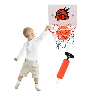 Child Mobile Wall-mounted Basketball Stand Indoor Shooting Frame Sports Toys