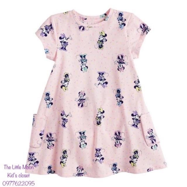 Váy thun in full hoạ tiết Jumping Beans cho bé từ 12m-6y (12 tháng đến 6 tuổi)