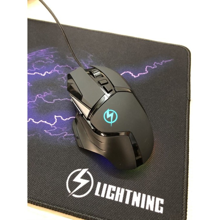 Chuột Game Lightling L502 Có Led Đổi Màu - Hàng Chính Hãng