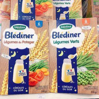 Bột pha (lắc) sữa Blediner 250g ban đêm 6m - 8m+ thumbnail