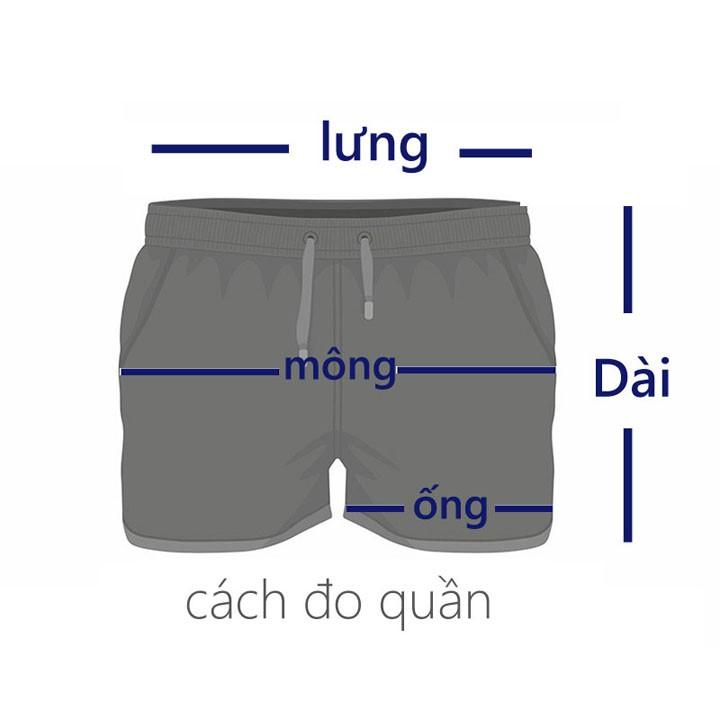 Quần đùi nam freesize từ 58-65kg thun phối 1 sọc quần lửng nam - QN20