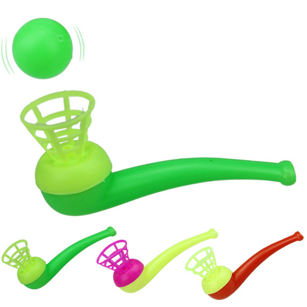 Fun Hanging Suspension Pipe Blowing Ball Children Educational Toys