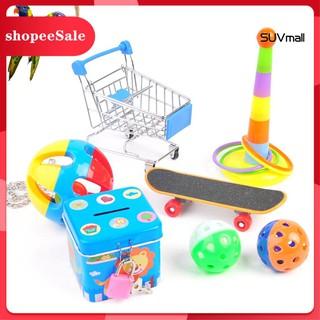 Bộ 5 6 7 món đồ chơi ván trượt dành cho chim vẹt[ hot sale ] thumbnail