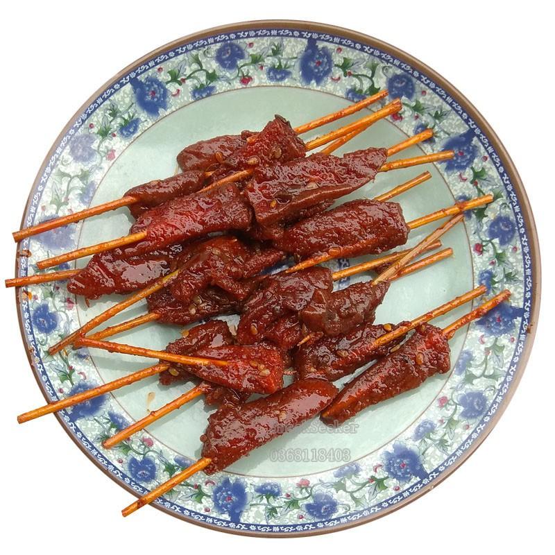 Thịt Nướng Xiên Tăm Que-THỊT XIÊN TĂM QUE-ĐỒ ĂN VẶT TRUNG QUỐC