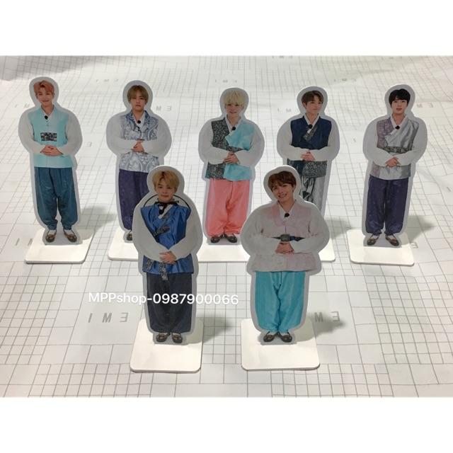 Bộ standee 7 thành viên BTS cao 19cm