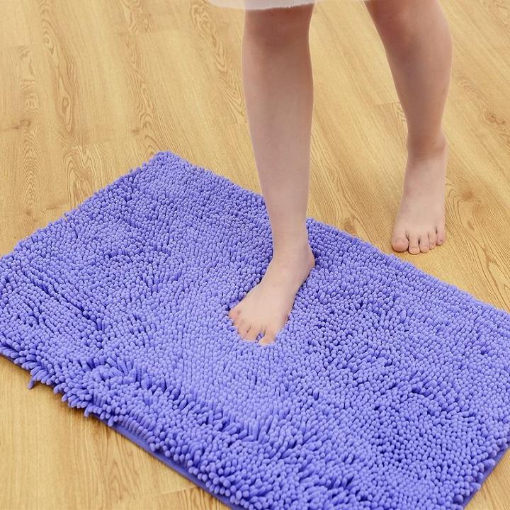 Thảm lau chân san mịn size to 40 x 60cm