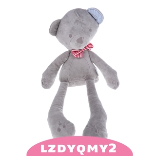 Curiosity Animal Plush Toys Bear Stuffed Soft Plush Toy for Toddlers Kids