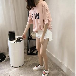 Áo nữ tay thắt dây cá tính – Ai-002 Chất liệu cao cấp, thời trang nữ 2019 T6
