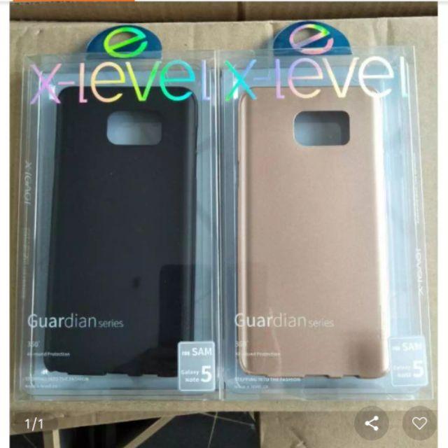 ốp dẻo nhám Galaxy Note 5 hiệu X-Level chính hãng