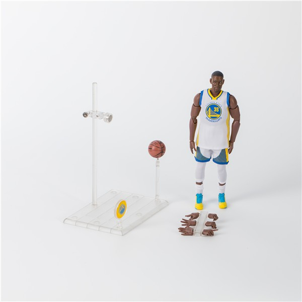 NBA basketball star Durant No. 35 White Kevin Durant 1/9 movable Action Figures